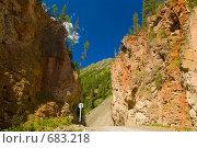 Купить «Красные ворота. Горный Алтай», фото № 683218, снято 12 июня 2008 г. (c) Селигеев Андрей Иванович / Фотобанк Лори