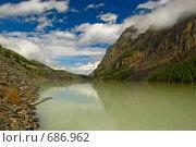 Купить «Озеро Маашей. Горный Алтай», фото № 686962, снято 24 июля 2008 г. (c) Селигеев Андрей Иванович / Фотобанк Лори