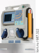 Купить «Медицинский дефибриллятор», фото № 687322, снято 20 мая 2007 г. (c) Beerkoff / Фотобанк Лори