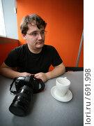 Купить «Фотограф», фото № 691998, снято 29 января 2009 г. (c) Astroid / Фотобанк Лори