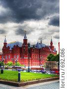 Купить «Исторический музей. Москва. Россия», фото № 692086, снято 20 июля 2019 г. (c) Екатерина Овсянникова / Фотобанк Лори