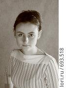 Портрет молодой девушки. Стоковое фото, фотограф Natalie Molchanova / Фотобанк Лори