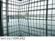 Купить «Вид из современного офисного здания», фото № 694642, снято 24 февраля 2008 г. (c) Литова Наталья / Фотобанк Лори