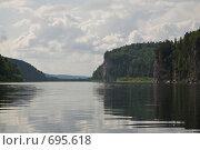 Купить «Пейзаж на реке Вишера», фото № 695618, снято 11 июля 2008 г. (c) Максим Стриганов / Фотобанк Лори