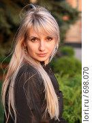 Купить «Портрет красивой девушки», фото № 698070, снято 15 августа 2008 г. (c) Константин Исаков / Фотобанк Лори