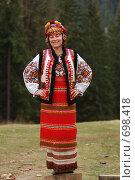 Гуцулочка (2008 год). Редакционное фото, фотограф Китаев Олег Александрович / Фотобанк Лори