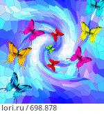 Купить «Бабочки», иллюстрация № 698878 (c) Анжелика Самсонова / Фотобанк Лори