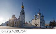 Купить «Вологодский Кремль», фото № 699754, снято 1 февраля 2009 г. (c) Светлана Щекина / Фотобанк Лори