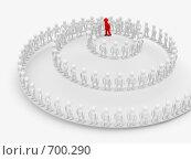Купить «Концепция командной работы», иллюстрация № 700290 (c) Ильин Сергей / Фотобанк Лори