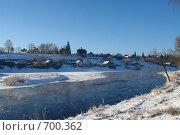 Зима в Торжке (2007 год). Стоковое фото, фотограф Юрков Виктор Петрович / Фотобанк Лори