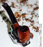 Курительная трубка. Стоковое фото, фотограф семен плужник / Фотобанк Лори