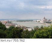 Будапешт на реке Дунай (2008 год). Стоковое фото, фотограф Николаенкова Светлана / Фотобанк Лори