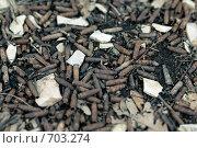 Ржавые гильзы на земле. Стоковое фото, фотограф Синюков Пётр Львович / Фотобанк Лори