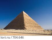 Купить «Египет. Гиза. Пирамида Хеопса.», эксклюзивное фото № 704646, снято 10 декабря 2007 г. (c) Горшков Игорь / Фотобанк Лори