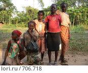 Африканские девочки (2007 год). Редакционное фото, фотограф Ольга Морозова / Фотобанк Лори