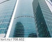 Купить «Москва - Сити. Строительство делового центра», фото № 708602, снято 17 февраля 2009 г. (c) Кирпинев Валерий / Фотобанк Лори