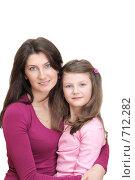Купить «Мама и дочка», фото № 712282, снято 19 февраля 2009 г. (c) Анна Игонина / Фотобанк Лори