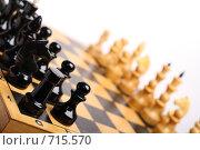 Шахматы. Стоковое фото, фотограф Романенко Юлия Игоревна / Фотобанк Лори
