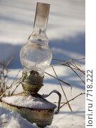 Зимняя лампа. Стоковое фото, фотограф Афанасьева Екатерина / Фотобанк Лори