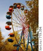 Прокатись на колесе, осень! Стоковое фото, фотограф Нина Галкина / Фотобанк Лори
