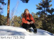 Девушка. Стоковое фото, фотограф Андрей Соловьев / Фотобанк Лори