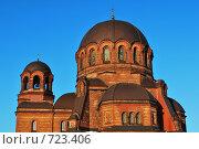 Купола Воскресенского собора в Нарве. Стоковое фото, фотограф Татьяна Vikkerkaar / Фотобанк Лори