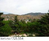 Летний пейзаж с видом на горы (2007 год). Стоковое фото, фотограф Венюков Вячеслав / Фотобанк Лори