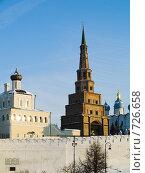 Купить «Г.Казань. Казанский кремль», фото № 726658, снято 27 января 2009 г. (c) Andrey M / Фотобанк Лори