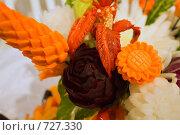 Купить «Букет из овощей», фото № 727330, снято 8 января 2009 г. (c) Дмитрий Сидоров / Фотобанк Лори