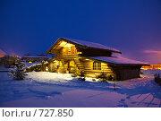 Купить «Сельский домик», фото № 727850, снято 18 января 2009 г. (c) Зубко Юрий / Фотобанк Лори