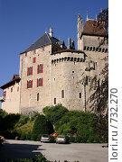 Купить «Замок Сент Бернард. Вид на замок», фото № 732270, снято 4 сентября 2004 г. (c) Gagara / Фотобанк Лори