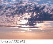 Купить «Небесный пейзаж», фото № 732942, снято 23 сентября 2008 г. (c) Золотовская Любовь / Фотобанк Лори
