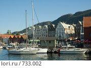 Купить «Берген. Норвегия», эксклюзивное фото № 733002, снято 1 августа 2006 г. (c) Александр Алексеев / Фотобанк Лори