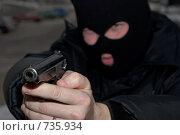 Купить «Войска специального назначения», фото № 735934, снято 5 февраля 2009 г. (c) Евгений Поздняков / Фотобанк Лори