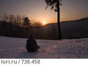 Купить «Одиночество», фото № 738458, снято 28 февраля 2009 г. (c) Леонид Селивёрстов / Фотобанк Лори