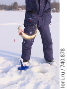 Купить «Зимняя рыбалка», фото № 740878, снято 21 февраля 2009 г. (c) Юрий Каркавцев / Фотобанк Лори