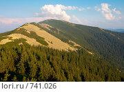 Купить «Горный пейзаж», фото № 741026, снято 14 августа 2008 г. (c) Юрий Брыкайло / Фотобанк Лори