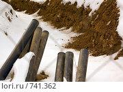 Ремонт труб. Стоковое фото, фотограф Дмитрий Малахов / Фотобанк Лори