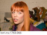 Купить «Анастасия Стоцкая», фото № 743066, снято 20 мая 2008 г. (c) Михаил Ворожцов / Фотобанк Лори