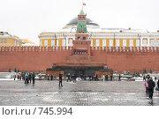 Купить «Мавзолей Ленина», фото № 745994, снято 9 марта 2009 г. (c) Антон Корнилов / Фотобанк Лори
