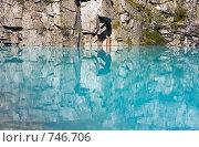 Купить «Затерянное озеро. Долина Семи озер, горы Алтая, Россия», фото № 746706, снято 22 июля 2008 г. (c) Max Toporsky / Фотобанк Лори