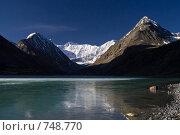 Купить «Аккемское озеро», фото № 748770, снято 29 мая 2008 г. (c) Дмитрий Кожевников / Фотобанк Лори
