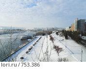 Купить «Красноярск. Набережная реки Енисей», фото № 753386, снято 28 ноября 2006 г. (c) Andrey M / Фотобанк Лори