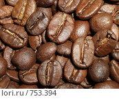 Купить «Зерна кофе», фото № 753394, снято 5 июля 2007 г. (c) Илюхина Наталья / Фотобанк Лори