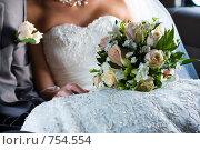 Купить «Свадебный букет», фото № 754554, снято 5 сентября 2008 г. (c) Фадеева Марина / Фотобанк Лори