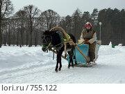 Однажды в студеную зимнюю пору (2009 год). Редакционное фото, фотограф Alexander Mirt / Фотобанк Лори