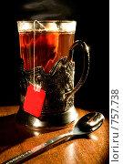 Купить «Чай», фото № 757738, снято 10 марта 2009 г. (c) Михаил Ковалев / Фотобанк Лори