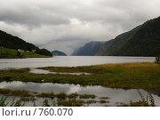 Норвежский фьорд (2008 год). Стоковое фото, фотограф Эдуард Финовский / Фотобанк Лори