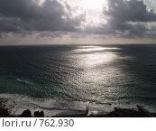 Тучи над морем. Стоковое фото, фотограф Виктор Шмыголь / Фотобанк Лори