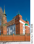 Купить «Самарская соборная мечеть», фото № 765698, снято 19 марта 2009 г. (c) FotograFF / Фотобанк Лори